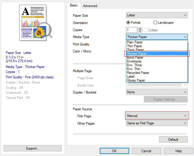 how to print pdf file into booklet